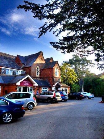 Best Western Abbots Barton Hotel : Außenansicht
