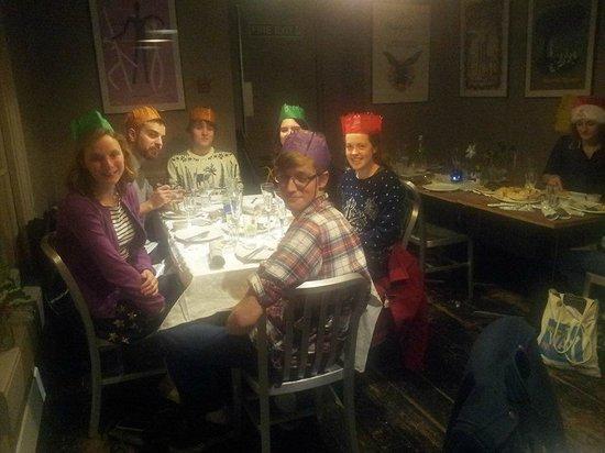 Metropolitan Cafe : Christmas Meal