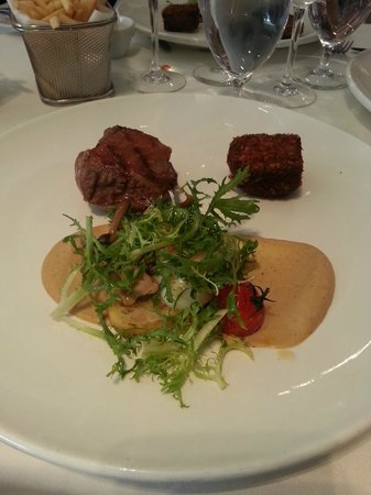 Euro: Lamb rump, absolutely delicious meal