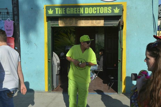 The Green Doctor Venice Beach Californie Picture Of