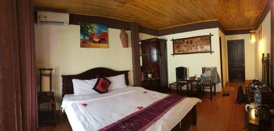 Sapa Unique Hotel: spacious room 608