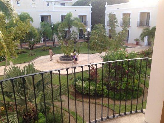 Dreams Tulum Resort & Spa : Vue sur jardin de la chambre