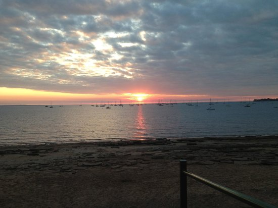 Pee Wee's At The Point : Sunset from Pee Wee's
