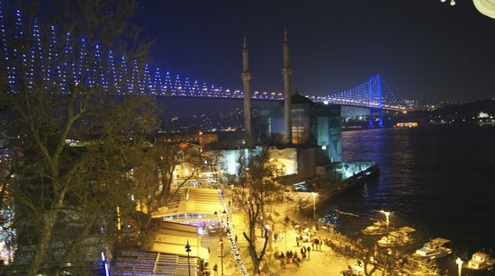 The House Hotel Bosphorus: View from room