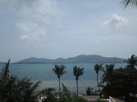 Cloud19 Beach Retreat: view from bedroom (ours is a high floor, stairs and climbing needed)