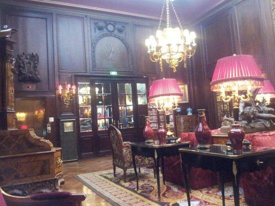 Hotel Sacher Wien: Лаунж