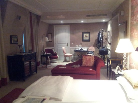 Hotel Sacher Wien: Бизнес-зона в номере