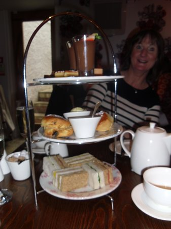 Vanbrugh House Hotel: Afternoon tea treats