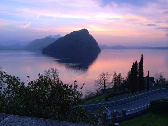 See- und Seminarhotel FloraAlpina: vista dal balcone