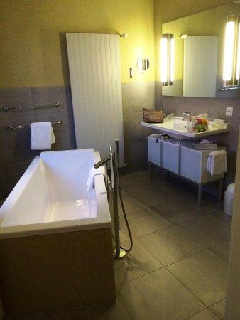 See- und Seminarhotel FloraAlpina: bathroom hotel flora alpina