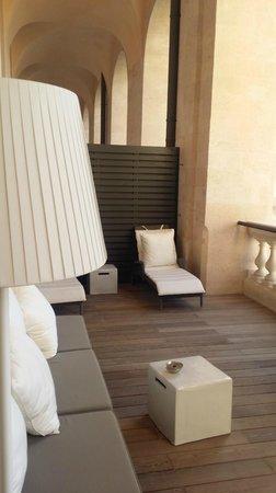 InterContinental Marseille - Hotel Dieu : Terrasse privée