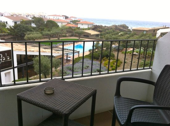 Hotel Sol Ixent: View to our balcony