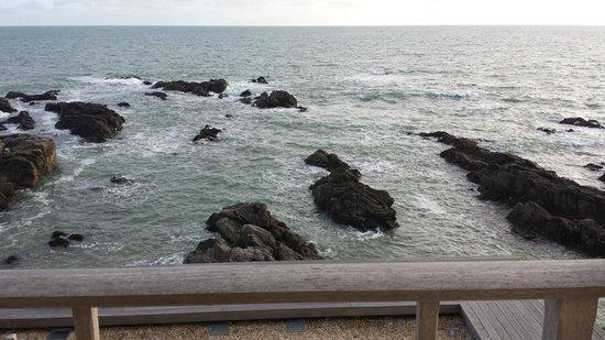 L'Ocean : Vue de la chambre 206