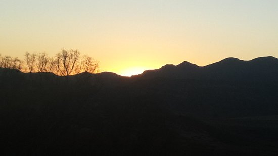 Bokpoort Cowboy Ranch: beautiful sunset