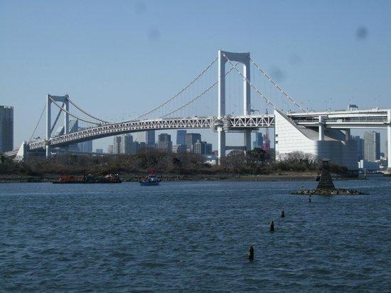 Rainbow Bridge : お台場から見たレインボーブリッジ