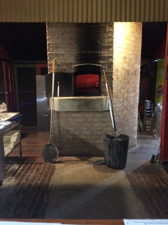 Belvedere Restaurant : Wood fired pizza oven
