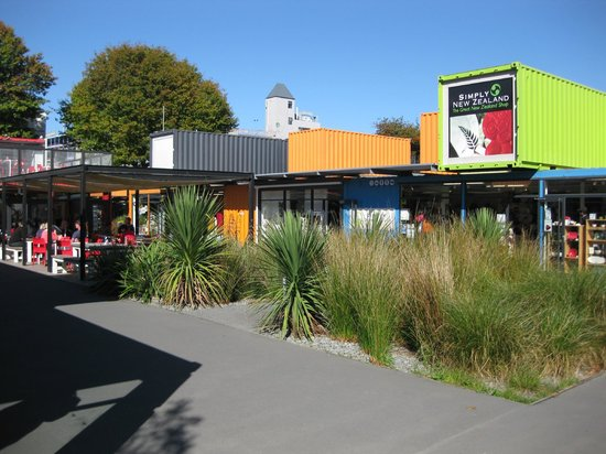 Curator's House Restaurant: Shopping in Christchurch