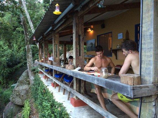 Asalem : dinner terrace