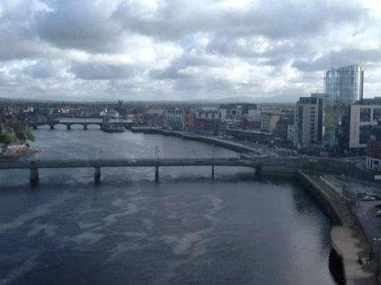 Clayton Hotel Limerick: view from 10th floor