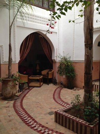 Palais Sebban: panorama dalla camera