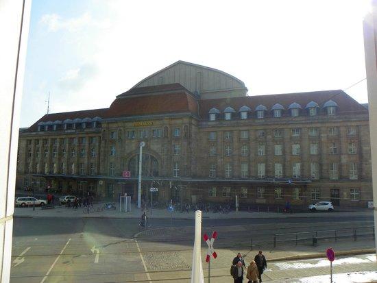 Best Western Hotel Leipzig City Center: Vista desde nuestra ventana.