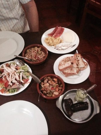 The Willows : Some of the tapas