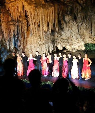 Cueva de Nerja: Flamenco finale, Nerja Caves Festival 2008