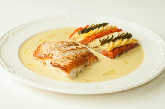 Sergio's Restaurant : Gulf Coast Grouper, w/ Bayaldi and Sauce Vadouvan