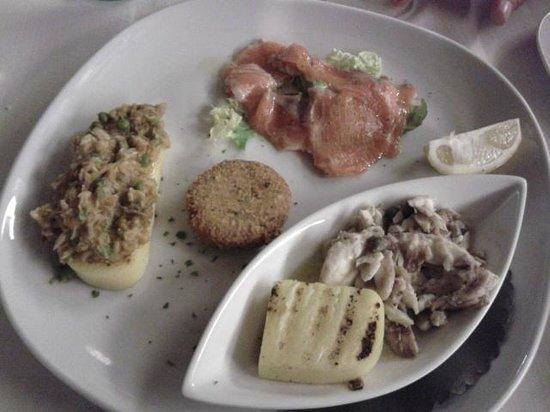 Osteria del 4: Antipasto degustazione: misto di pesce di lago