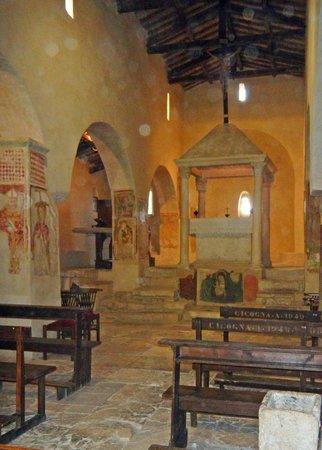 Chiesa di Santa Pudenziana: l'interno