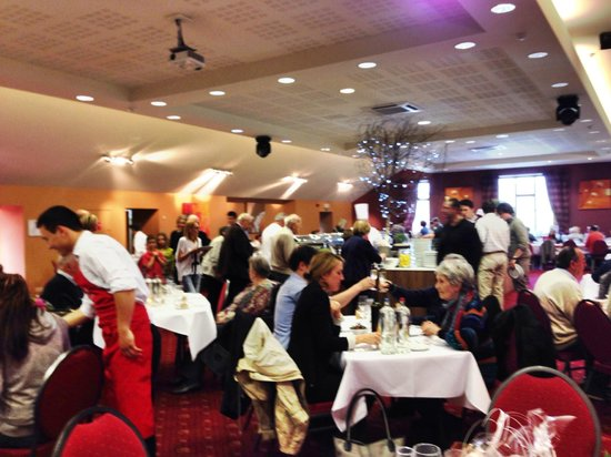 Quartier Latin : vue du buffet