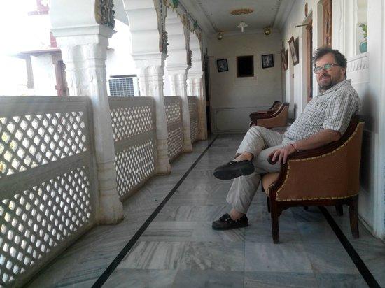 Pushkar Lake Palace: vista corridoio