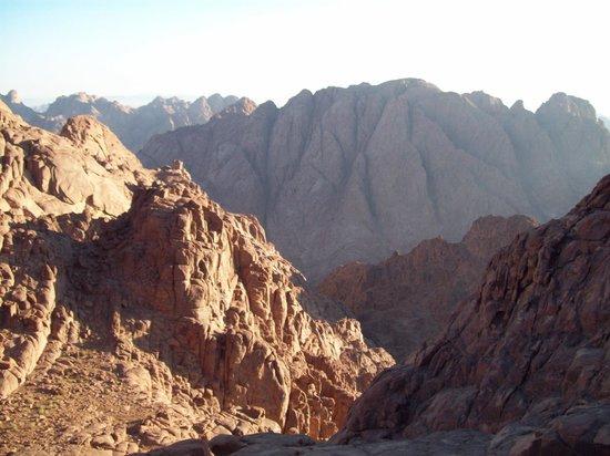 Mount Sinai: Panoramic view from Mt. Sinai