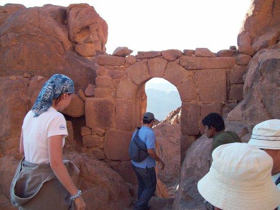 Mount Sinai: Ass you pass through these gates, your sins are forgiven :-)