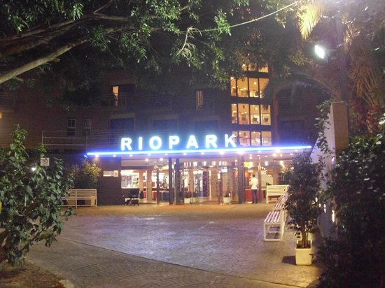 MedPlaya Hotel Rio Park: Entrance to hotel