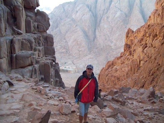 Mount Sinai: Descent to the Monastery