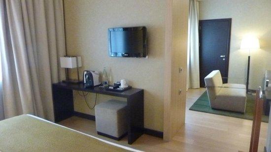 NH Madrid Ribera del Manzanares: junior suite 401
