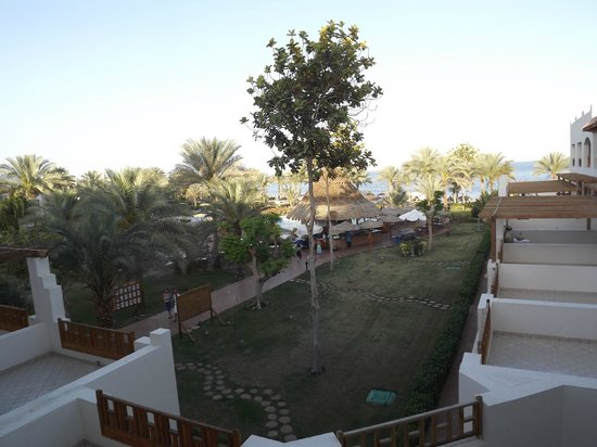 Royal Grand Sharm Hotel: View from our balcony