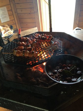 Fantastic BBQ hut
