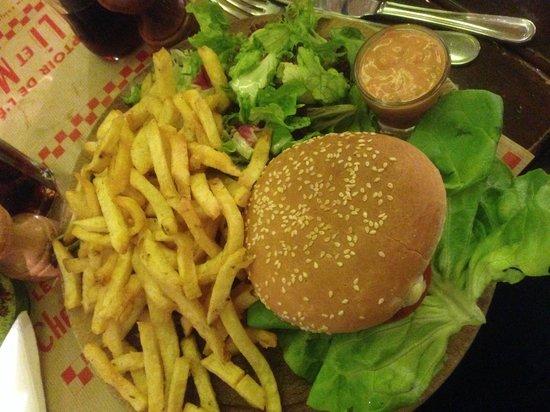 Chez Lili et Marcel: Burger Marcel