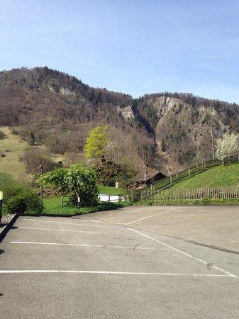 Hotel Landhaus : The view