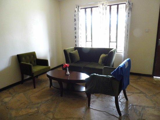 AA Lodge Amboseli : Sitzecke im Zimmer