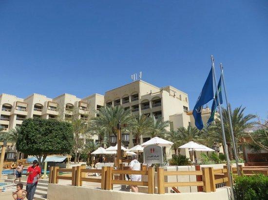 InterContinental Aqaba Resort : mainbuilding
