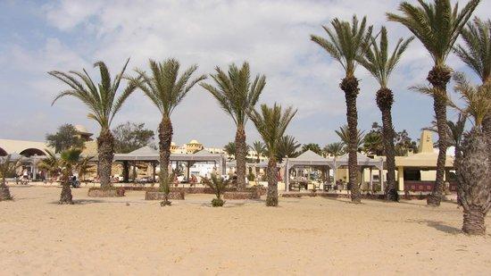 Hotel Palace Hammamet Marhaba: Strandbereich