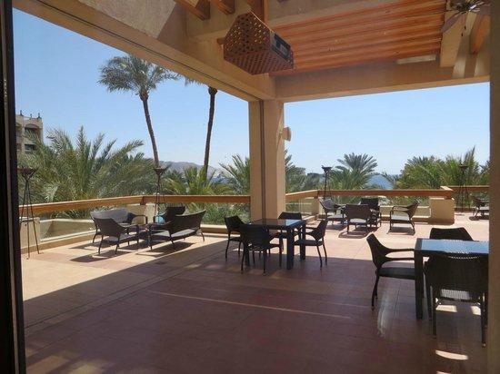 InterContinental Aqaba Resort : view to the beach