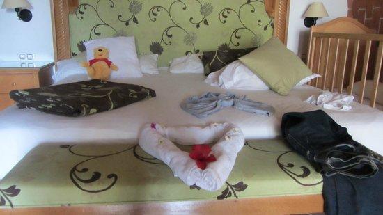 Hotel Palace Hammamet Marhaba: Bett