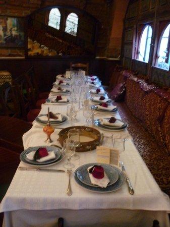 Le Ksar : Table soirée d'anniversaire!