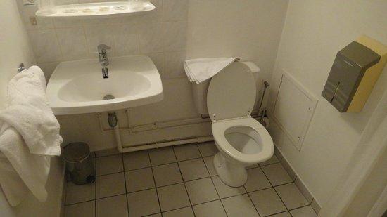 Majestic Hotel : トイレ