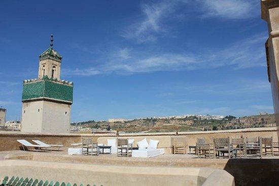 Hotel & Spa Riad Dar Bensouda: Vue depuis la terrasse