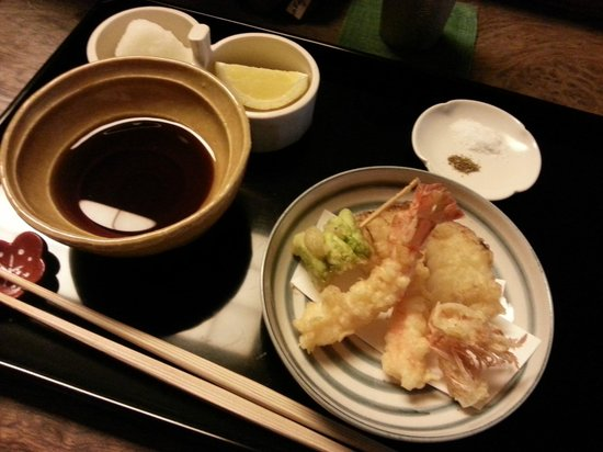 Tenyu : One course of the Set A menu